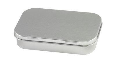 rechteckige dose als geschenkbox aus metall selber bedrucken. Black Bedroom Furniture Sets. Home Design Ideas